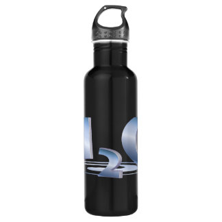 3D H2O STAINLESS STEEL WATER BOTTLE