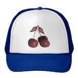 3D Halftone Cherries Retro Red Trucker Hat