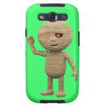 3d Halloween Mummy says Hi!(editable) Galaxy S3 Cover
