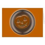 3D Halloween Pumpkin Card