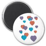 3D Heart Design on a magnet