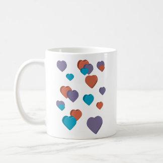 3D Hearts Mug