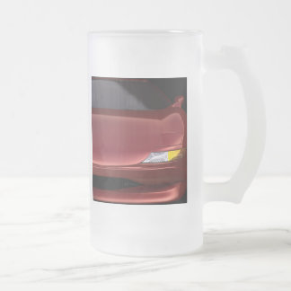 3D High Performance Tall Frosted Glass Mug