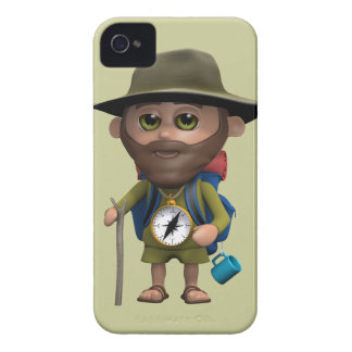 3d Hiker (Any Color U Like!) iPhone 4 Case-Mate Cases