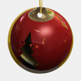 3D Holiday Onament Ceramic Ornament