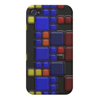 3D Illusion Modern Art Design iPhone 4 Case