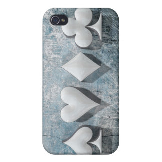 "3D ilustraciones ""juegos del póker "" iPhone 4 Cárcasa"