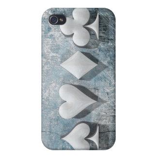 """3D ilustraciones """"juegos del póker """" iPhone 4 Carcasas"""