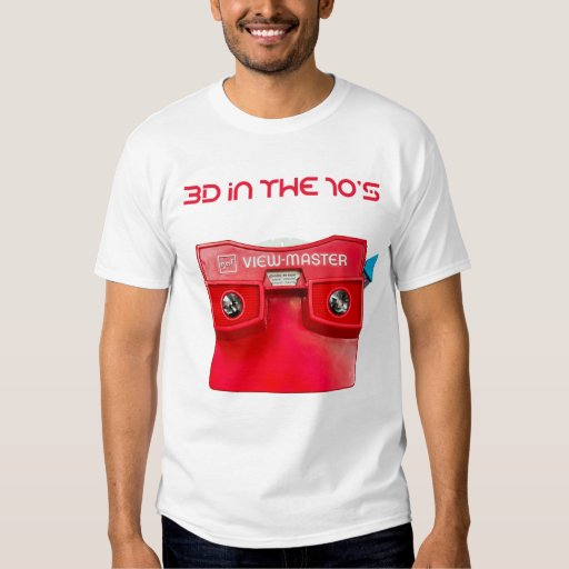 3D in the 70's - Viewmaster Tee Shirt