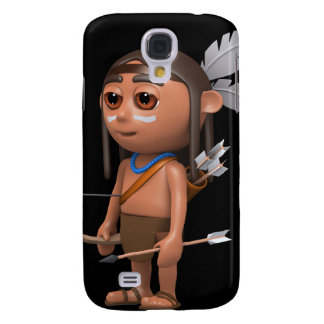 3d Indian Brave Bow and Arrow Galaxy S4 Cover