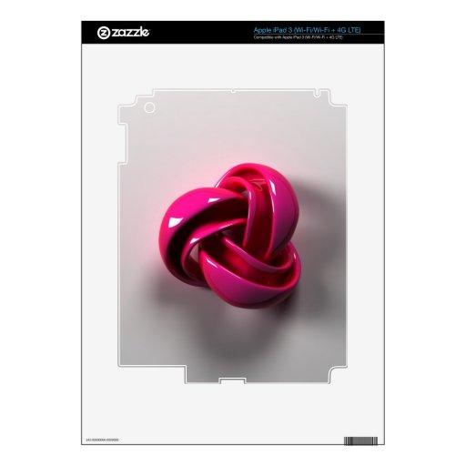 3D iPad 3 SKIN