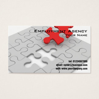 3d Jigsaw Puzzle Business Cards
