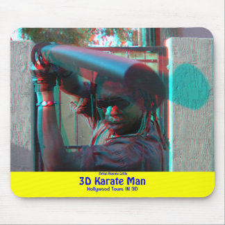 3D Karate Man Mouse Pad Artist Ronnie Little