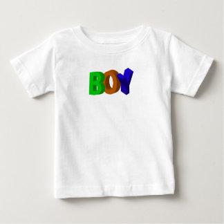 3D Letters Baby T-Shirt