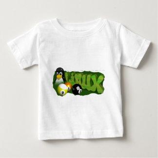 3D LINUX POOL BALLS BABY T-Shirt
