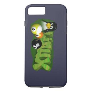 3D LINUX POOL BALLS iPhone 7 PLUS CASE