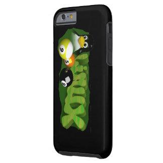 3D LINUX POOL BALLS TOUGH iPhone 6 CASE