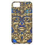 3D Liquid Gold GreenMan Damask on Satin Lush iPhone 5C Covers