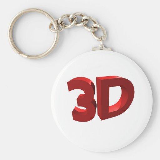 3D LLAVERO REDONDO TIPO PIN