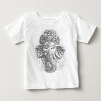 3d Lord Ganesha - Om Baby T-Shirt