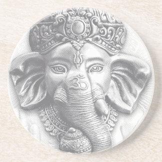 3d Lord Ganesha - Om Coaster