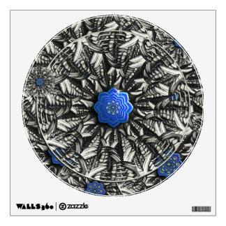 3D Lotus  Mandala Wall Decal