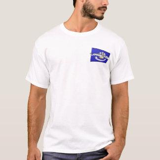3D Louisiana State Flag T-Shirt