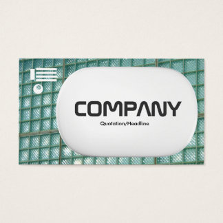 3d Lozenge - Glass Wall 02 Business Card