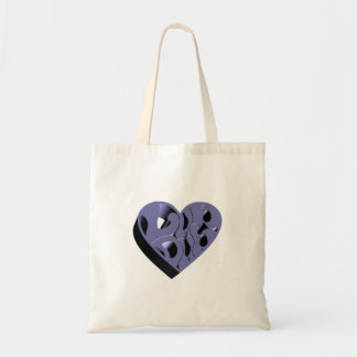 3D Lub Dub (Blue) Tote Bag