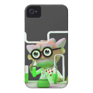 3d Mad Scientist Laboratory iPhone 4 Cover