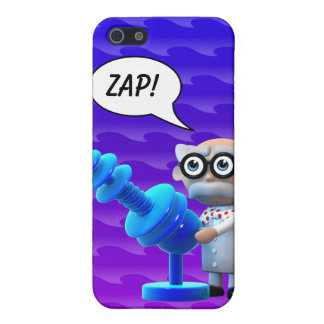3d Mad Scientist Ray Gun Case For iPhone SE/5/5s