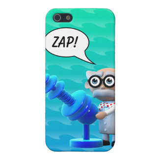 3d Mad Scientist Ray Gun iPhone SE/5/5s Case