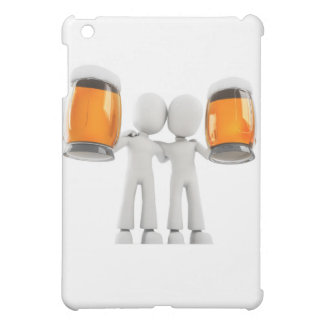 3d man and beer iPad mini cover