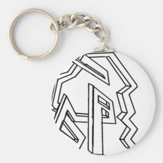 3d maze keychain