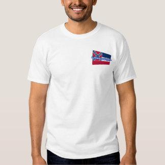 3D Mississippi State Flag Tee Shirt