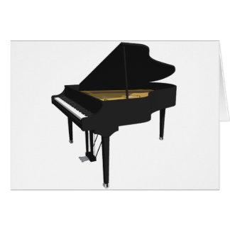 3D Model: Black Grand Piano: Card