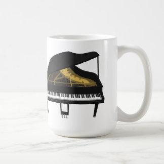 3D Model: Black Grand Piano: Mugs