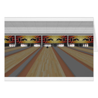 3D Model: Bowling Alley: Cards