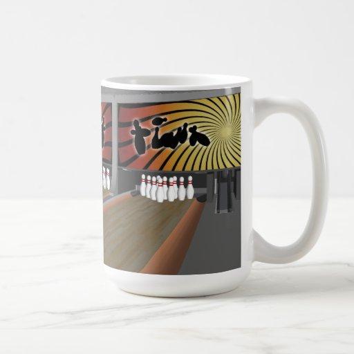 3D Model: Bowling Alley: Coffee Mug