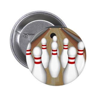 3D Model: Bowling Pins on Lane: