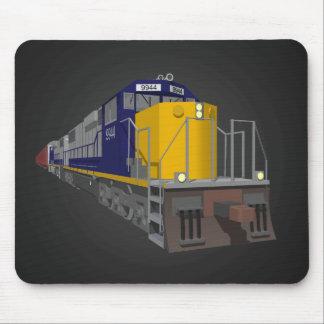 3D Model: Freight Train: Railroad: Mousepad