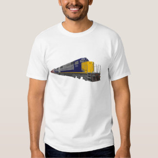 3D Model: Freight Train: Railroad: T-shirt