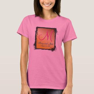 3d Monogram AA sleeve Citrine T-Shirt