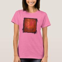 3d Monogram  Bronze Amber T-Shirt