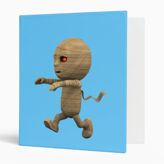 3d Mummy Chase! (Any Color U Like!) 3 Ring Binders