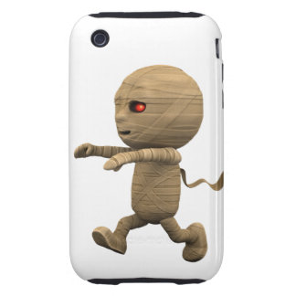 3d Mummy Chase! (Any Color U Like!) iPhone 3 Tough Cases