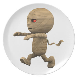3d Mummy Chase! (Any Color U Like!) Plate