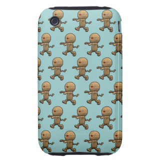 3d Mummy Chase!(with editable background!) iPhone 3 Tough Case
