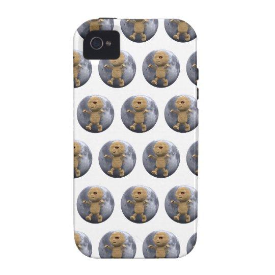 3d Mummy Full Moon (Editable BG Color!) iPhone 4/4S Cover