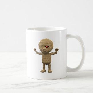 3d Mummy Haunts Classic White Coffee Mug
